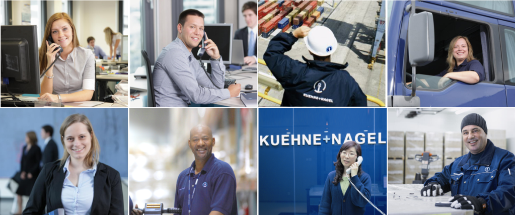 Driver roles with Kuenhne + Nagel
