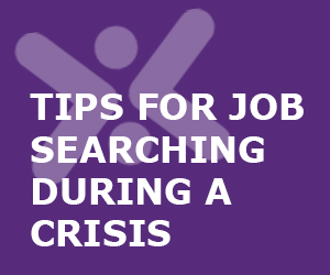 Job Search Tips During A Crisis
